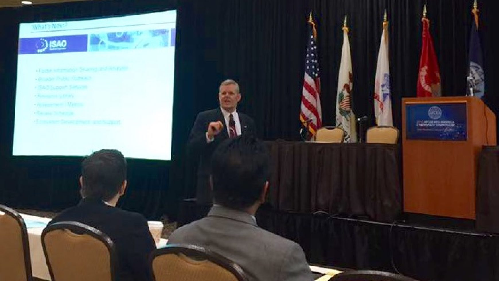 On the Road: The AFCEA Mid-America Cyberspace Symposium